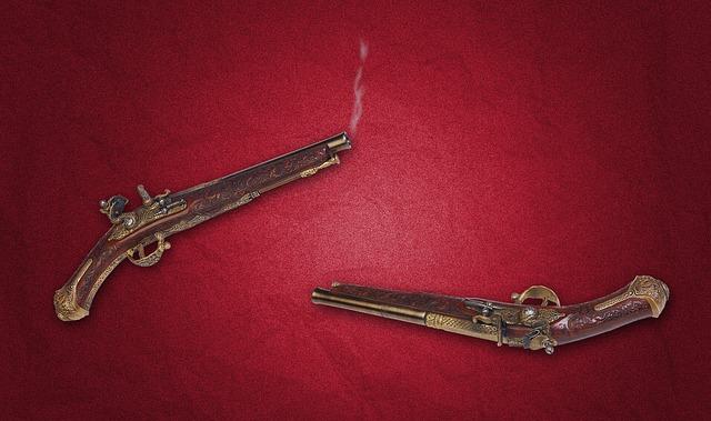 vintage pistole