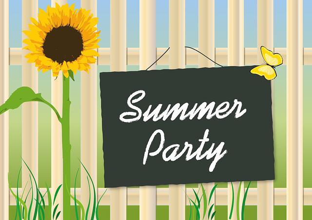 letní párty