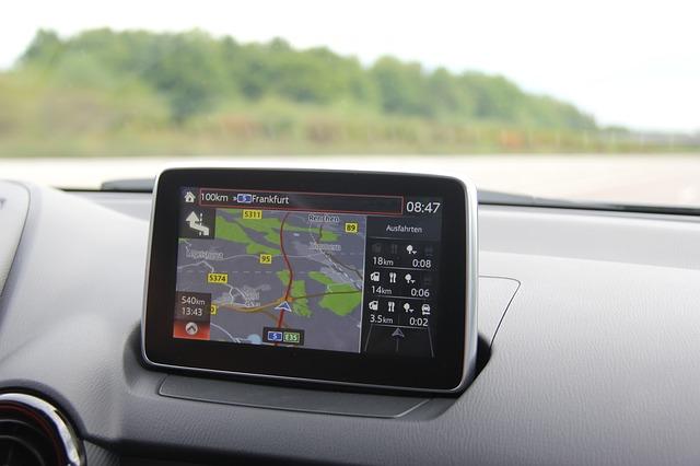 cestování s navigací