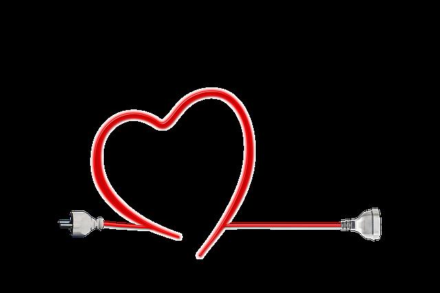 kabel srdce