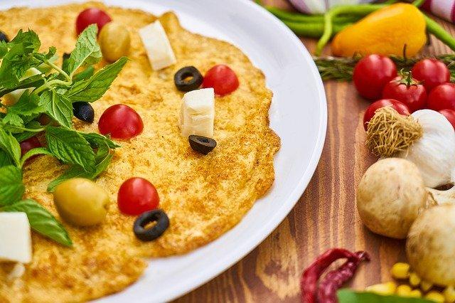 obložená omeleta
