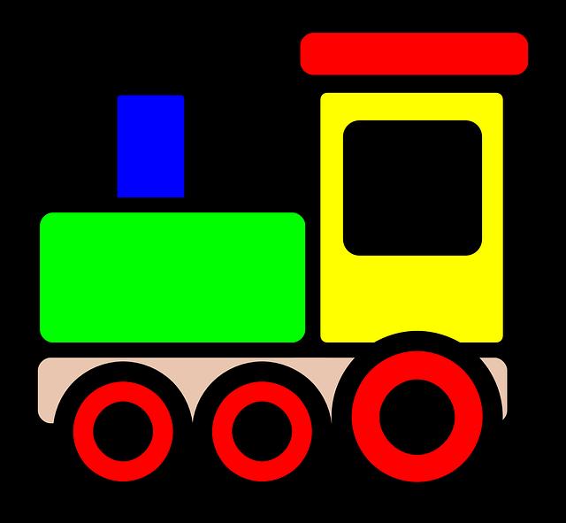 Ilustrace-barevná mašinka